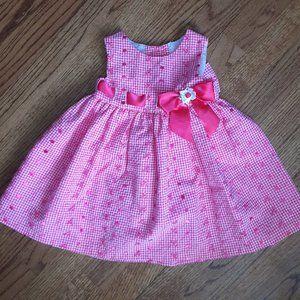 🌸 Bonnie Baby Girls Dress Size 12 Months